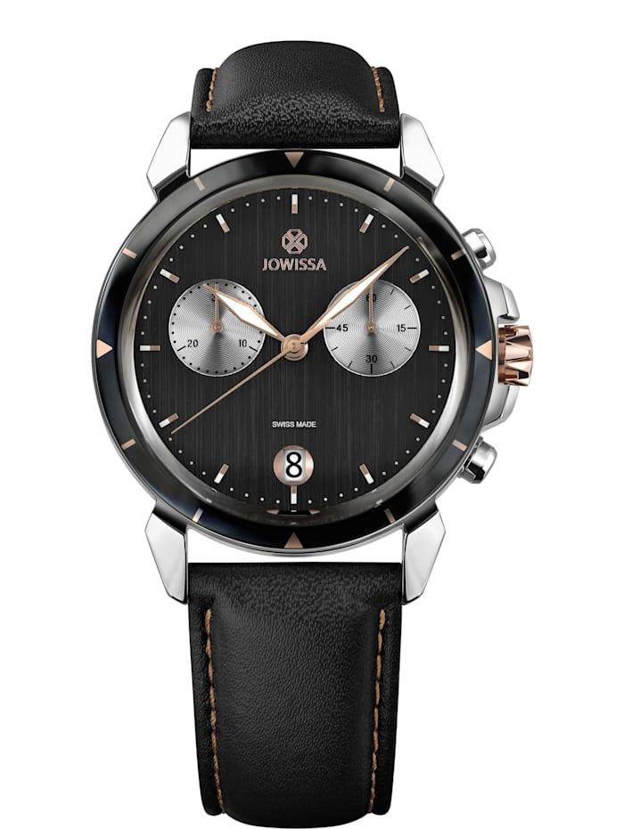 Jowissa Quarzuhr LeWy 6 Swiss Men's Watch, schwarz