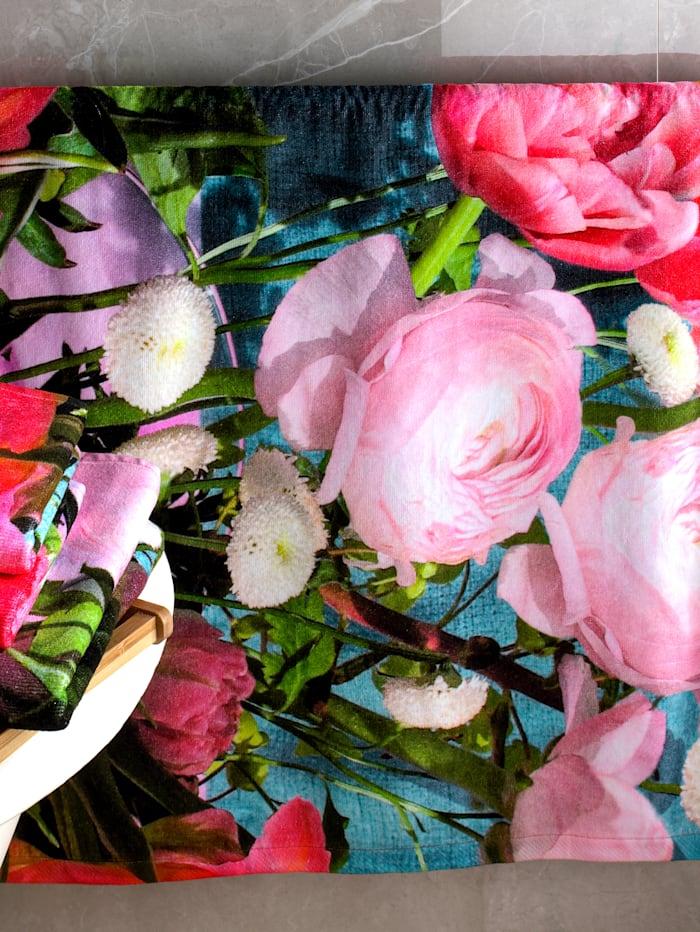 Kleinmann Frottierserie 'Flower', Multicolor