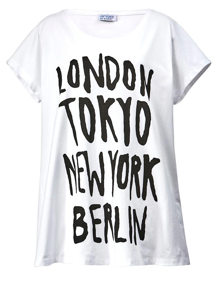 Longshirt mit Schriftzug Prints