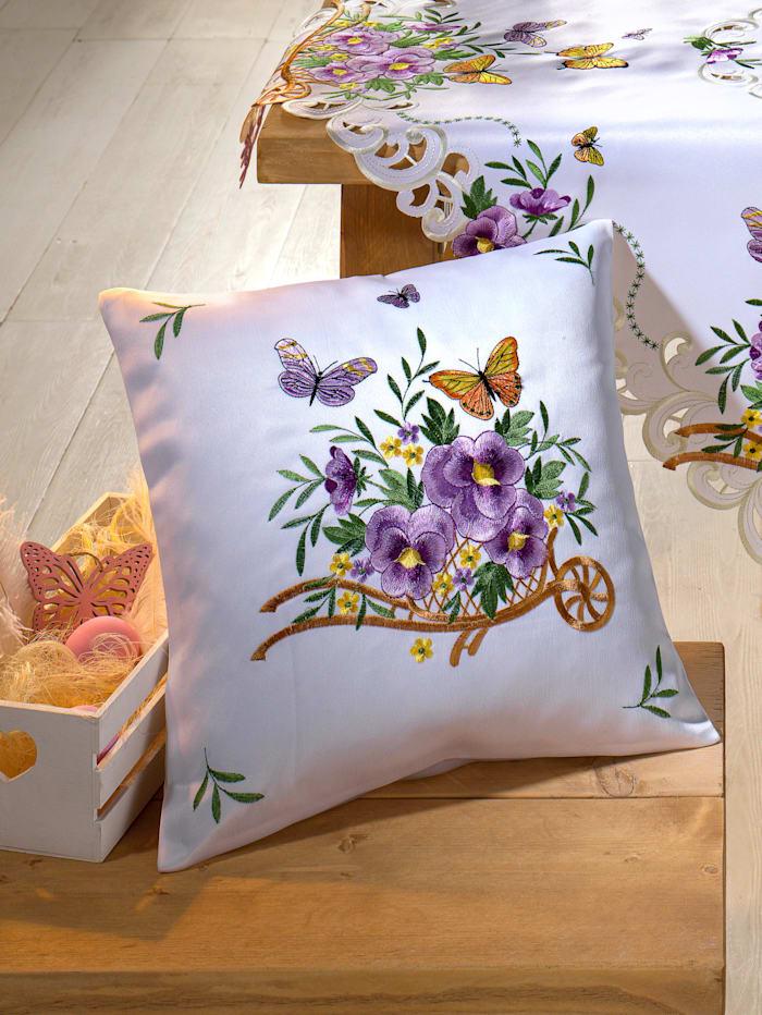 Webschatz Kussenhoes Kira, Wit/Multicolor
