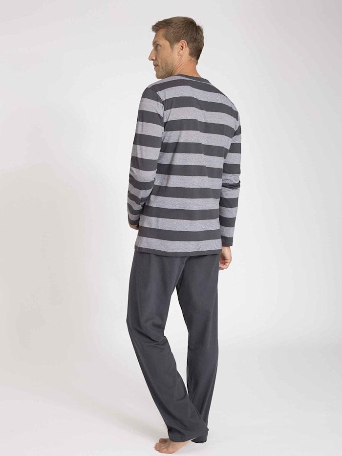 Pyjama mit Knopfleiste Ökotex zertifiziert