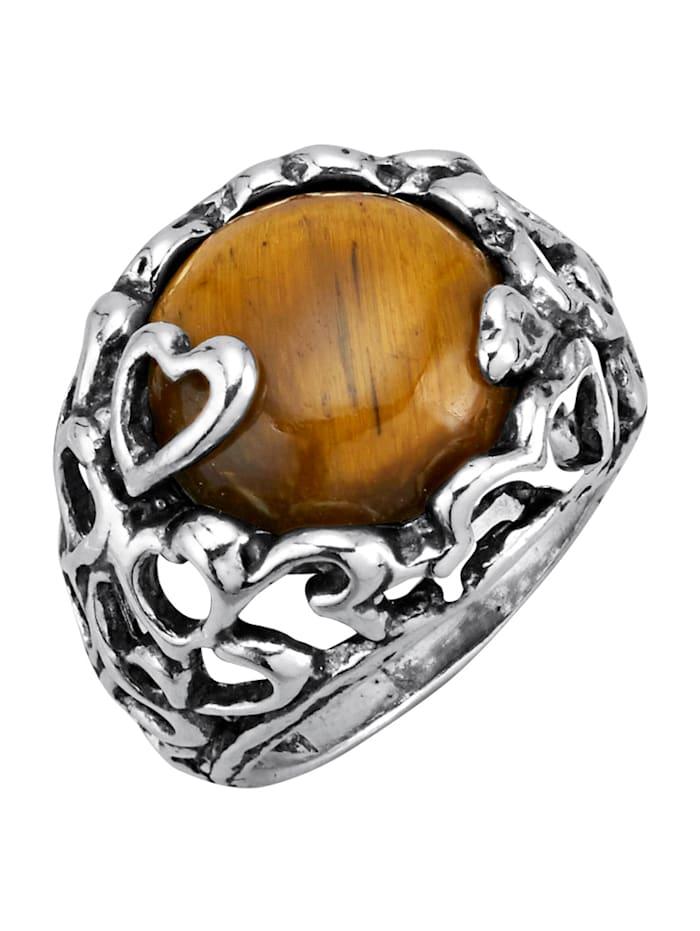 Ring i sølv 925, Sølvfarger