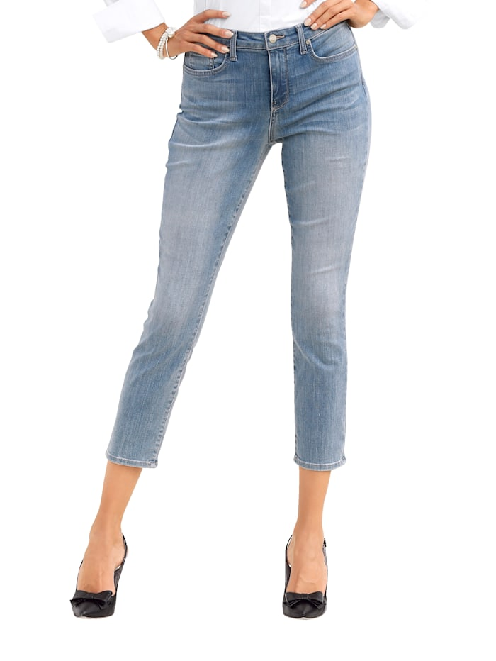 NYDJ Jeans met shaping effect, Lichtblauw