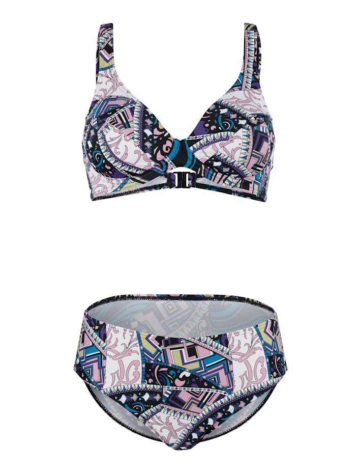 Bikini mit verstellbaren Trägern