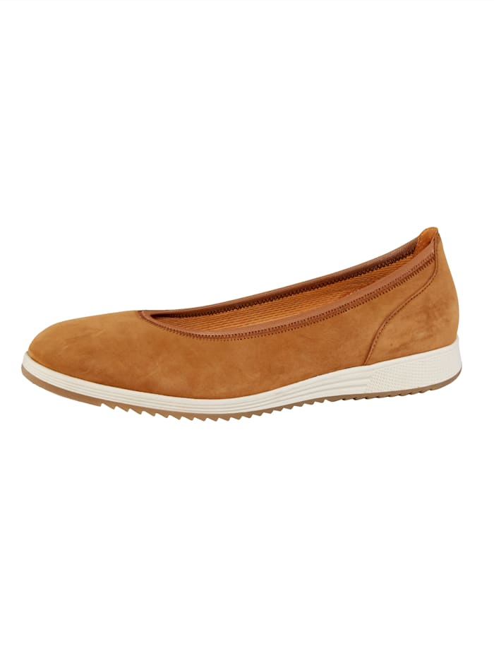 Gabor Ballet Court shoes, Brown