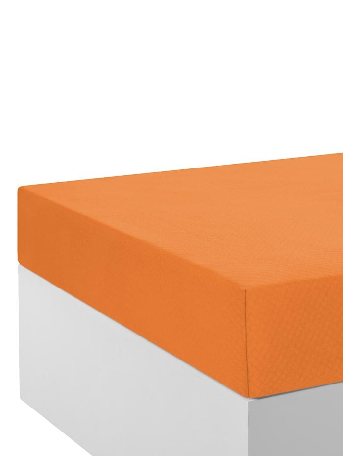 Webschatz Thermisch hoeslaken, Terracotta