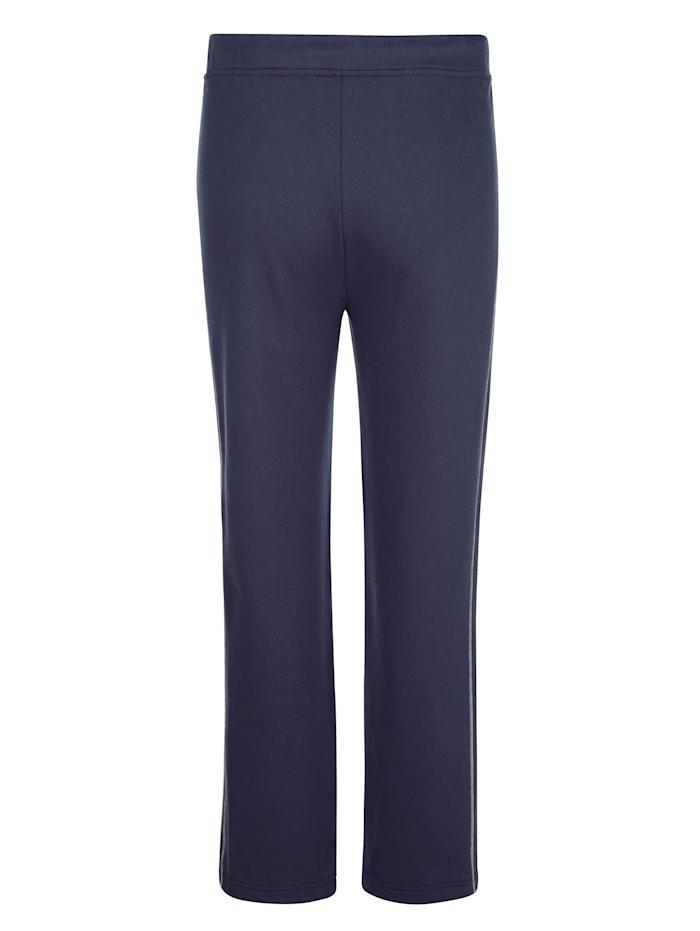 Pantalon de loisirs à coutures contrastantes