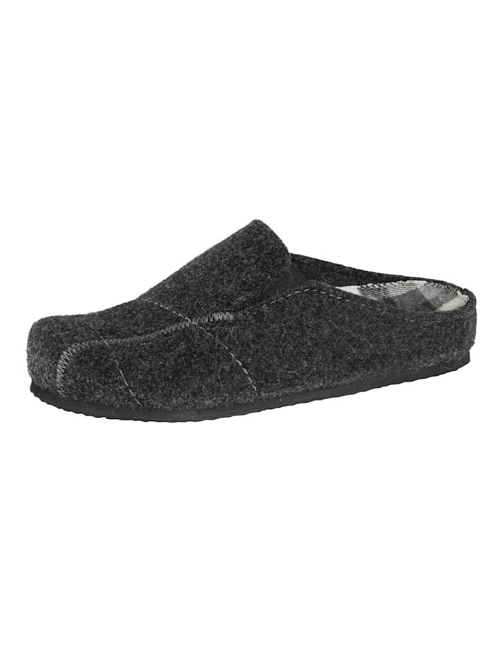 Pantoffel aus hochwertigem Wollfilz