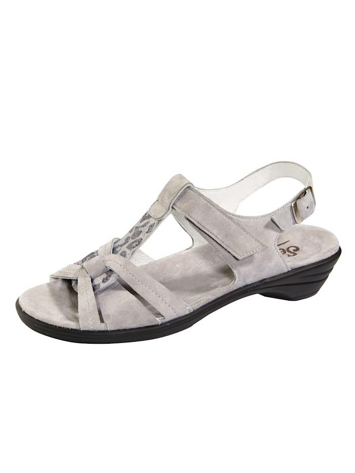 Semler Sandalette, Grau