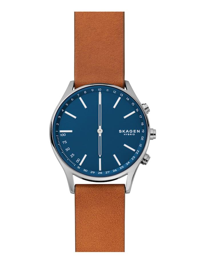Skagen Herren-Hybrid-Uhr Smartwatch HOLST SKT1306, Braun