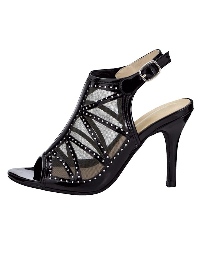 Sandaler i eksklusiv utførelse