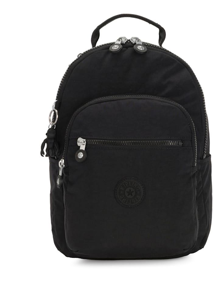Kipling Basic Clas Seoul S Rucksack 34 cm Laptopfach, black noir