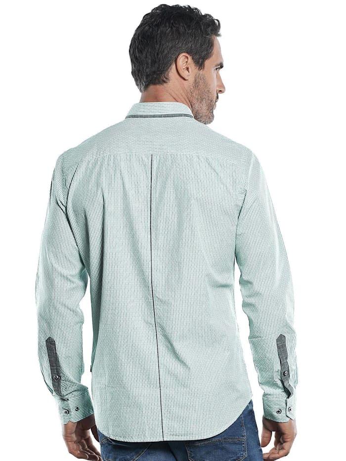 Innovatives Langarmhemd mit modischem Muster