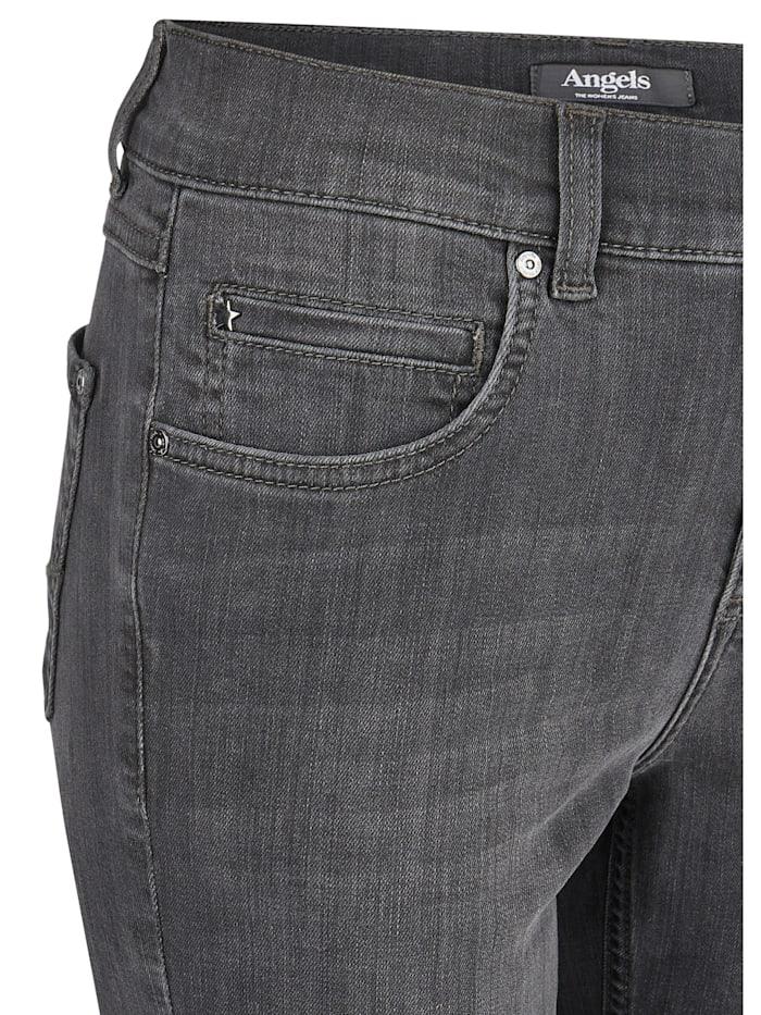 Jeans 'Cici' in dunkler Farbgebung