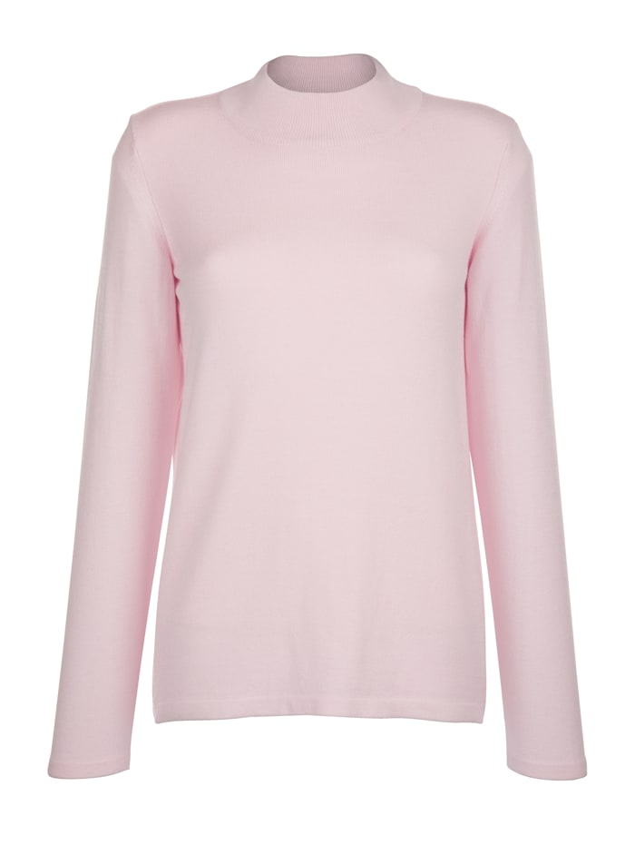 MONA Jumper made from a premium-quality fabric, Rosé