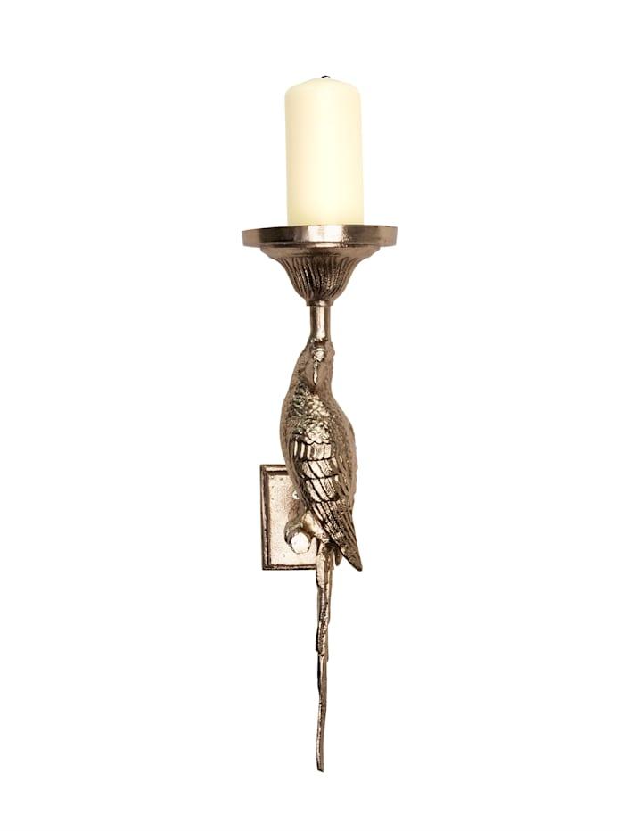 IMPRESSIONEN living Wand-Kerzenhalter, Goldfarben