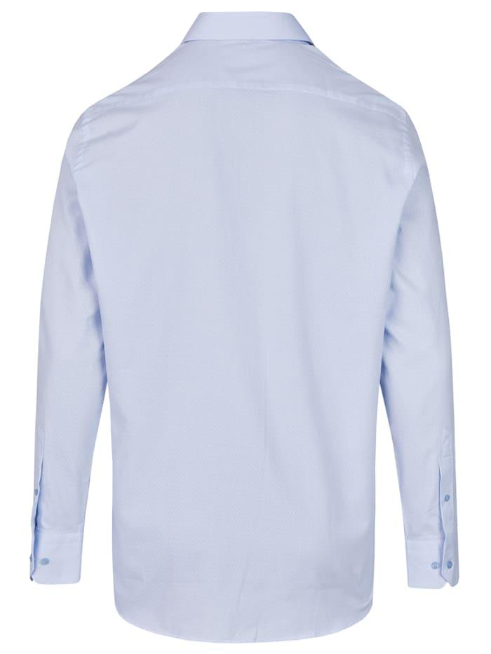Business-Hemd Langarm mit grafischem Muster