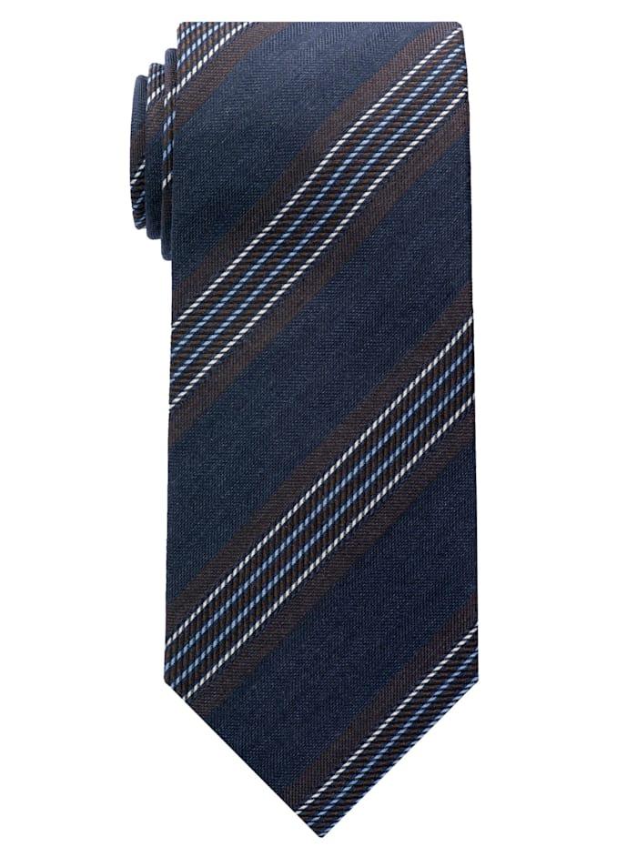 Eterna Eterna Krawatte breit, braun/blau