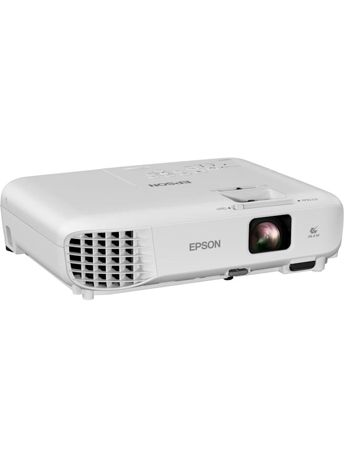 Epson LCD-Beamer EB-W06, Weiß