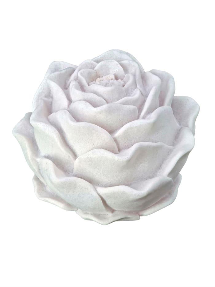 Casamaxx Tischleuchte 'Rose', Weiß