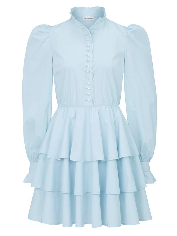 Custommade Kleid, Hellblau