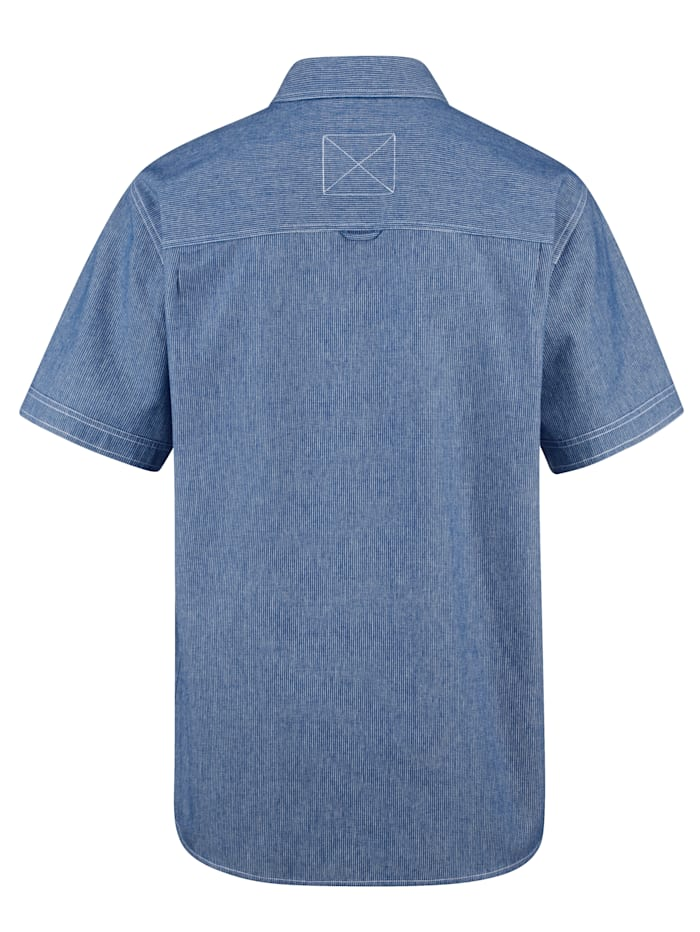 Overhemd met fijne streepjes
