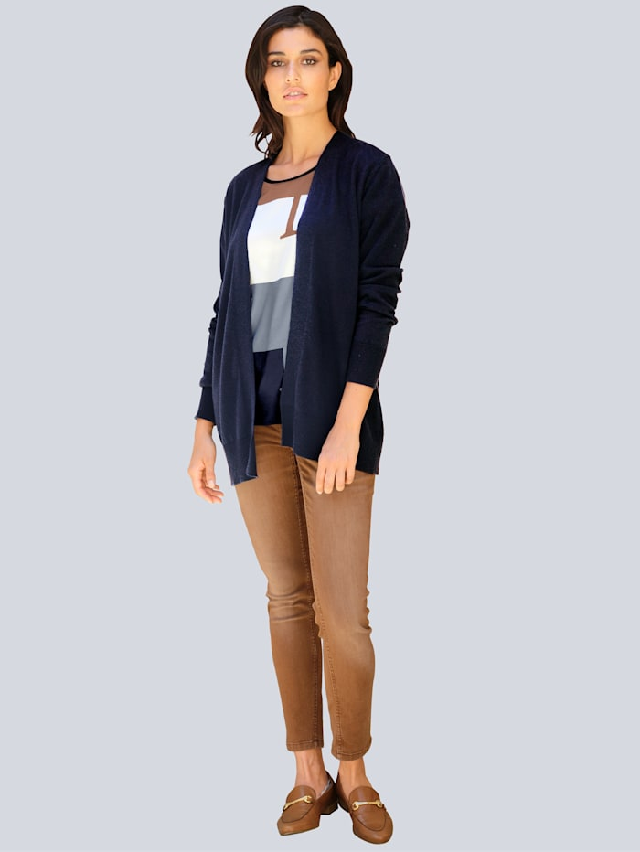 Jeans aus gefärbtem Denim