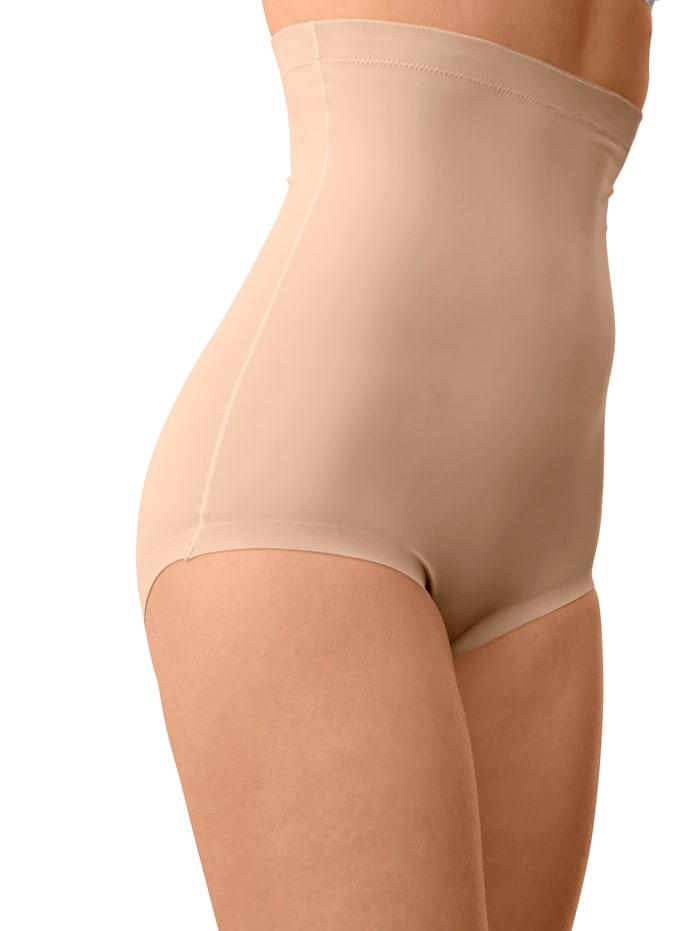 Harmony Miederhose mit rutschfestem Silikonband am Bund, Nude