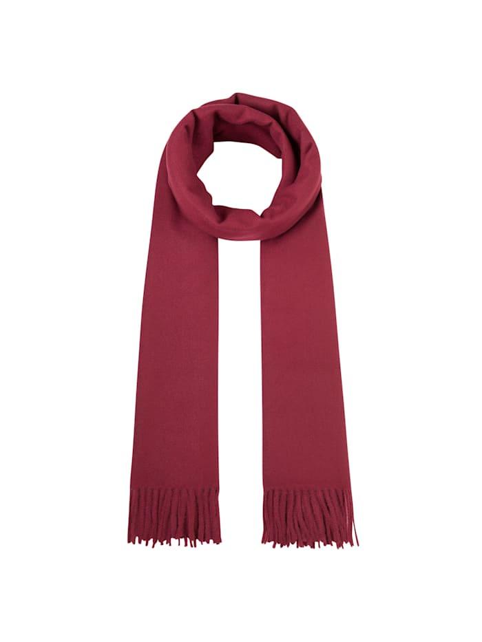 Codello Softer Oversized-Schal mit Viskose, dark red