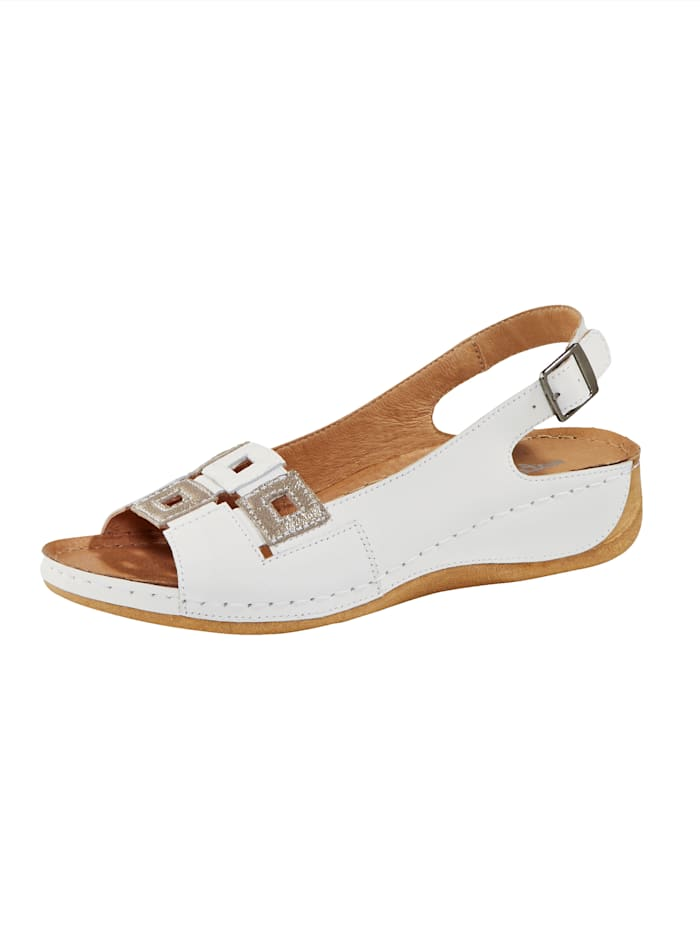 Naturläufer Sandals, White