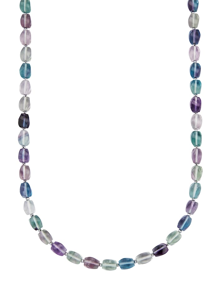 Collier en argent 925, Multicolore