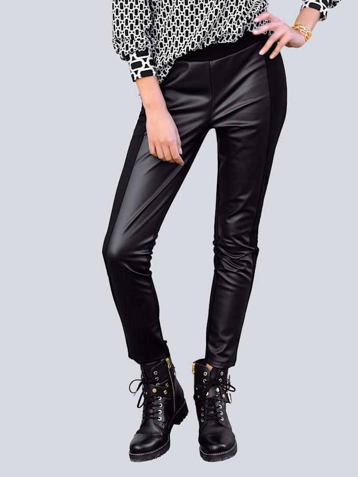 Alba Moda Legging in sehr schmaler Form, Schwarz