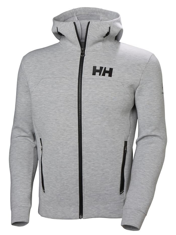 Helly Hansen HP OCEAN FZ HOODIE Jacke, GREY MELANGE