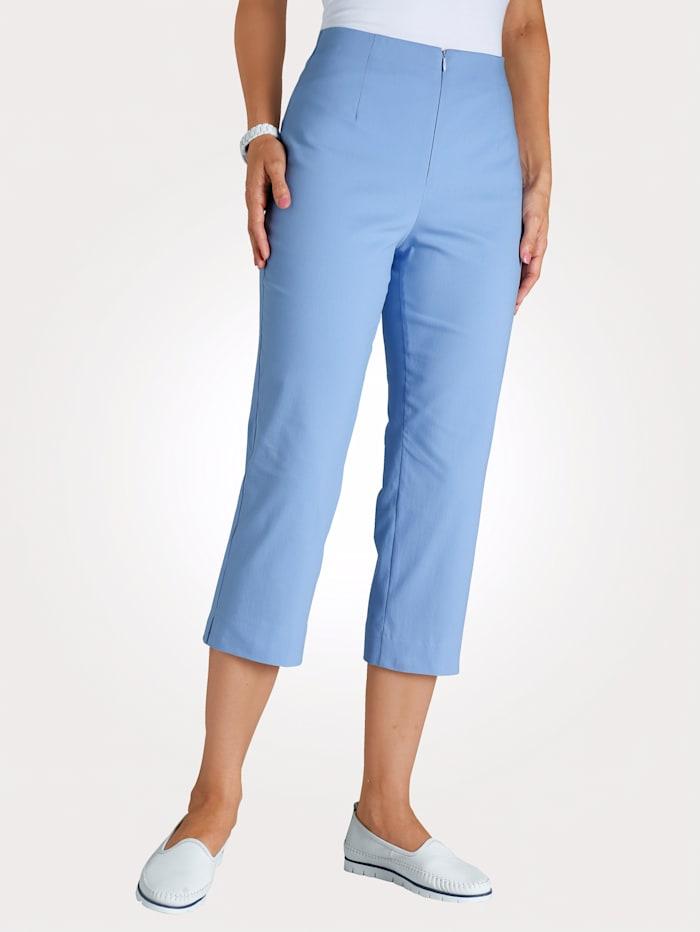 MONA 7/8 Hose mit Baumwolle Basic, Hellblau