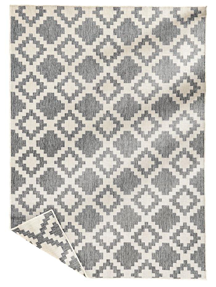 Webschatz Outdoorteppich 'Aurelian' mit Wendefunktion, Silberfarben