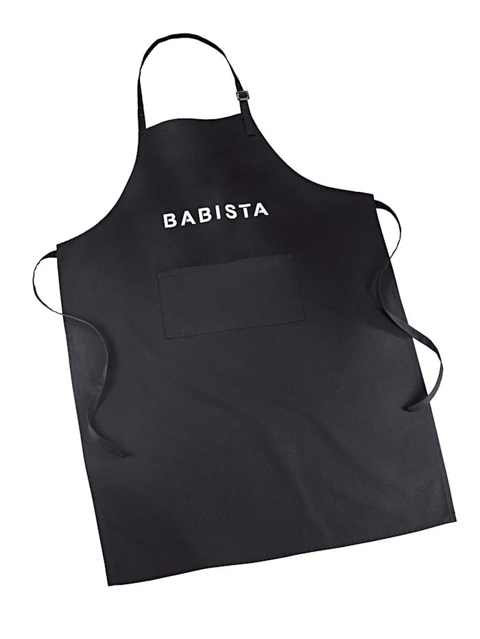 BABISTA Keukenschort, zwart