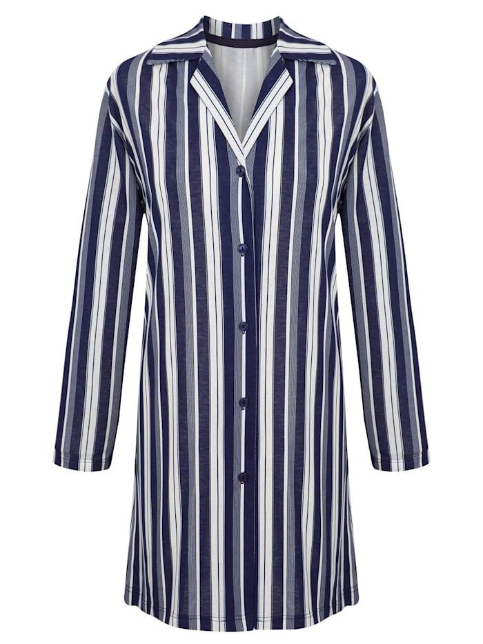 Damen Langarm Nachthemd