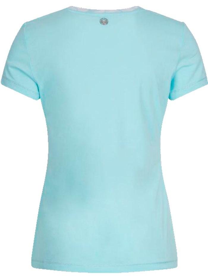 T-Shirt in modischer Farbe