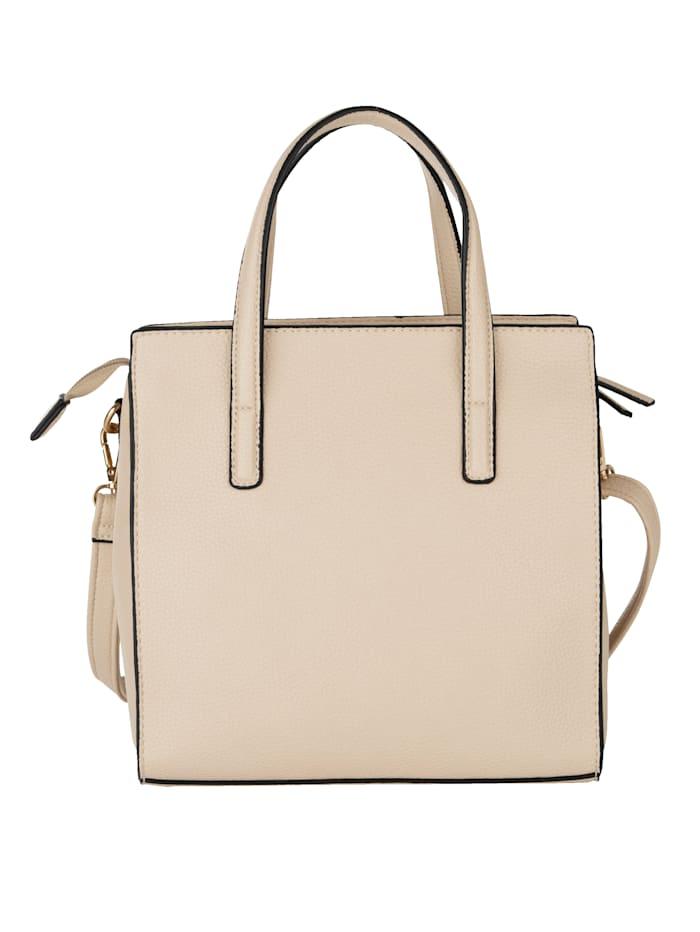 Handtasche aus leicht geprägtem Softmaterial