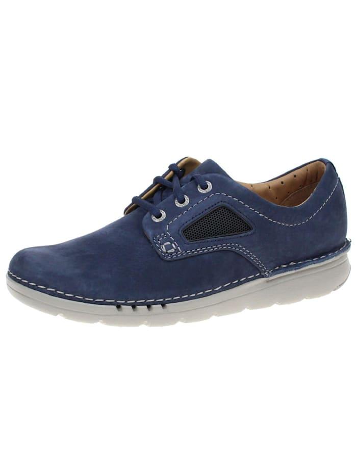 Clarks Schnürschuhe, blau