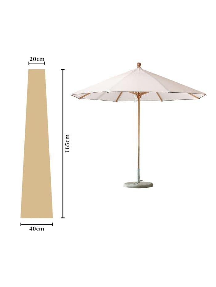 Grasekamp Schutzhülle Sonnenschirm bis ca. 300 cm  Ø Länge 165 cm Beige, Beige