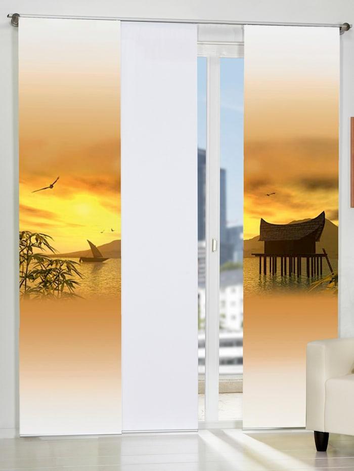 Home Wohnideen Paneelgordijn Sandakan, oranje