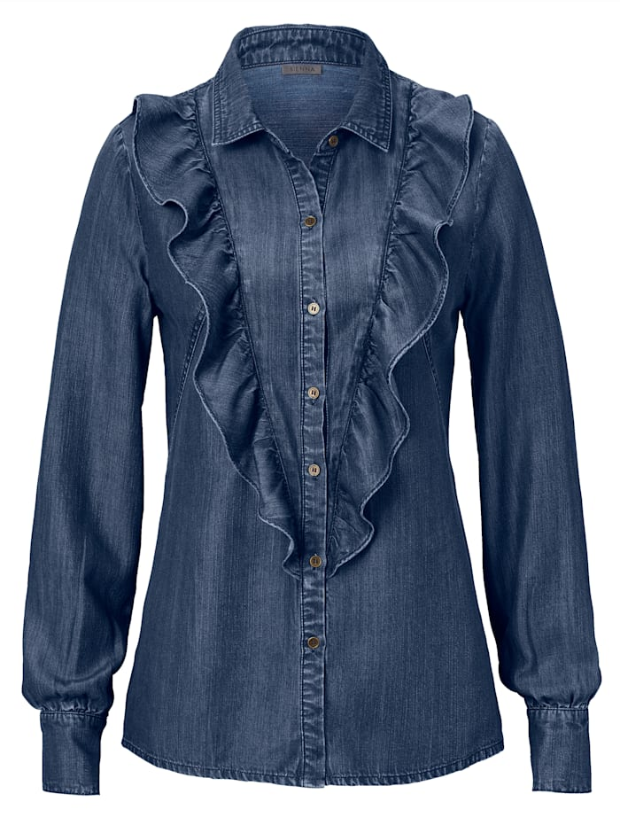 SIENNA Bluse, Denim