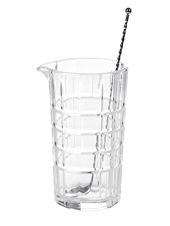 Leonardo Rührglas inkl. Löffel, transparent