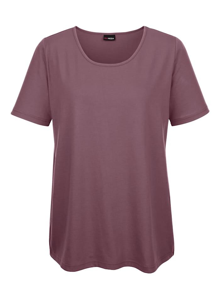 MIAMODA Shirt in kurzer Länge, Mauve