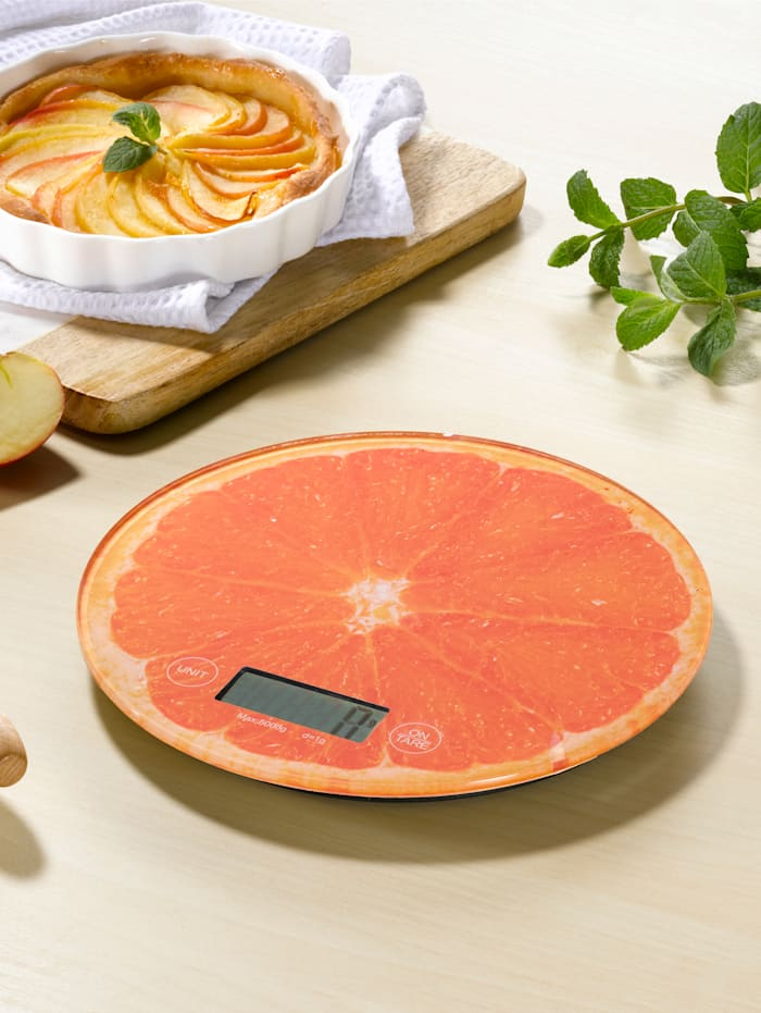 Keukenweegschaal, oranje