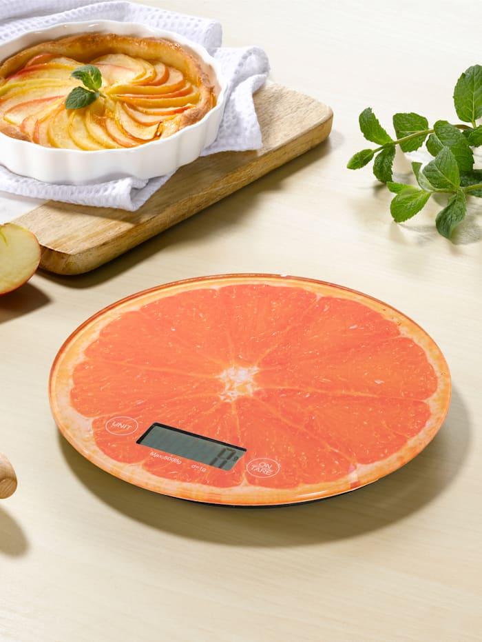 Kjøkkenvekt, oransje