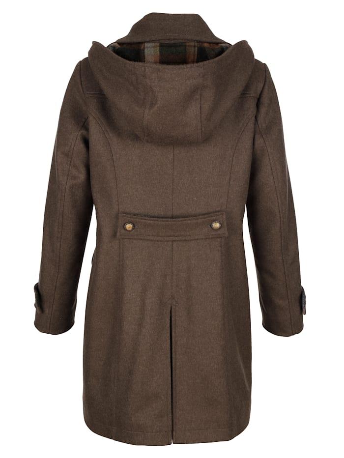 Jacke aus wärmendem Loden