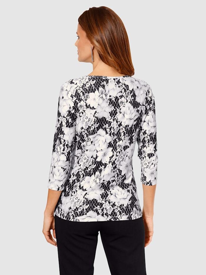T-shirt imprimé à motif floral