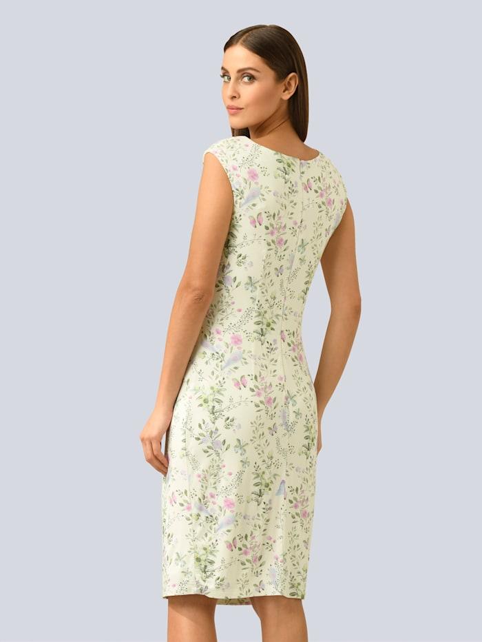 Kleid im allover Blumendruck